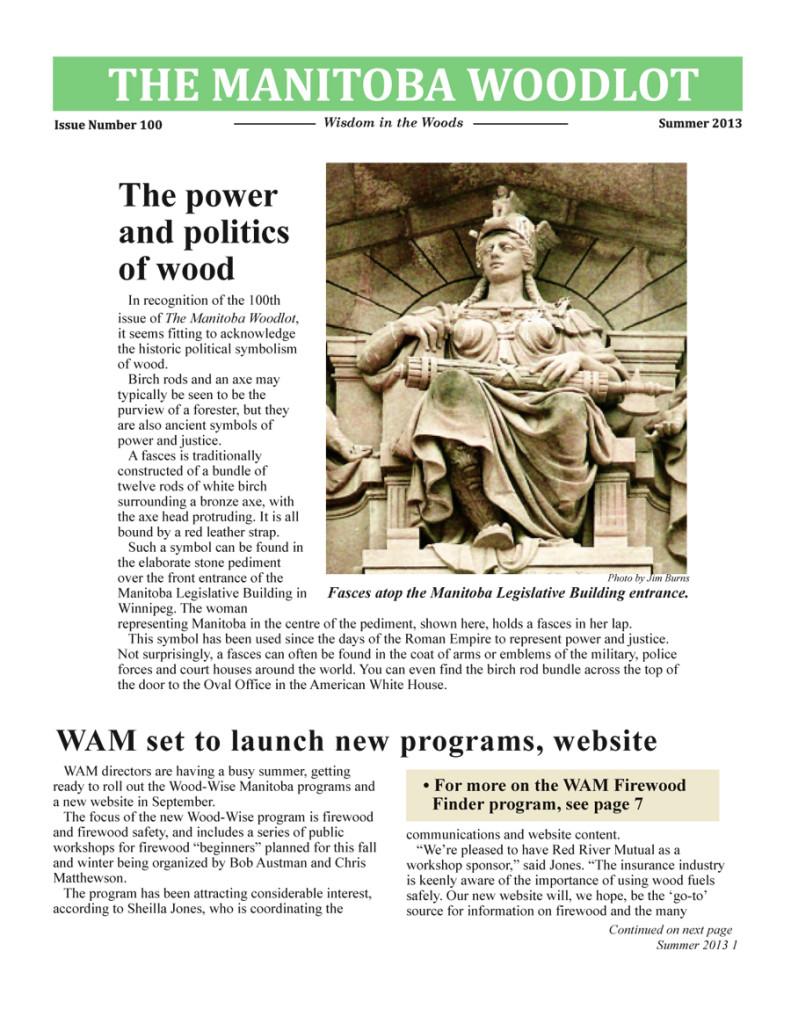 WAM Newsletter 100 FP copy